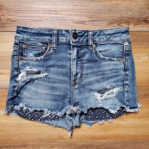 American Eagle Outfitters Women's Denim Shorts 4
